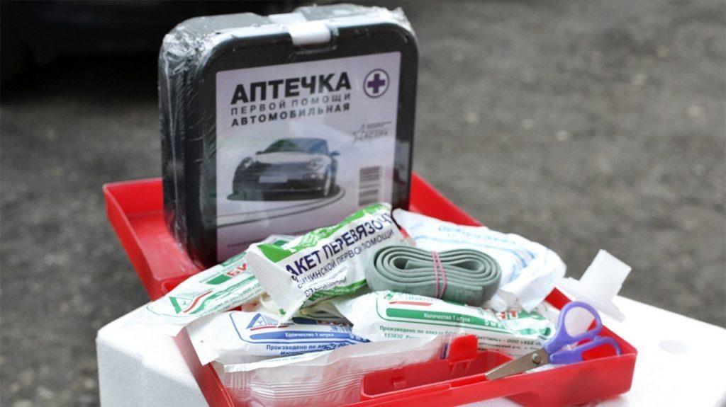 Минздрав решил разобраться с автомобильными аптечками
