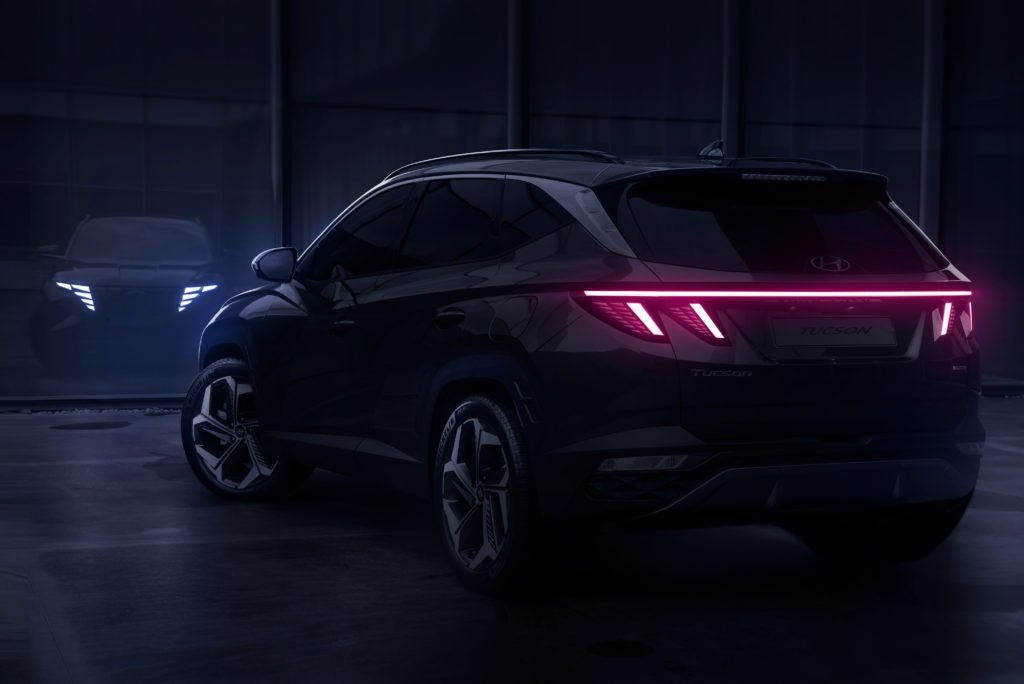 Новый кроссовер Hyundai Tuscon делает ставку на дизайн