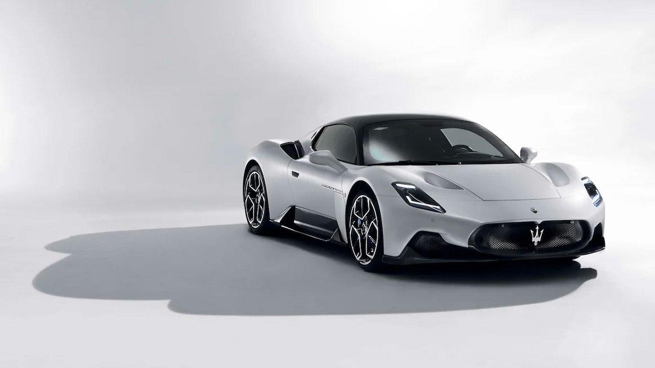 Новый суперкар Maserati рассекретили досрочно