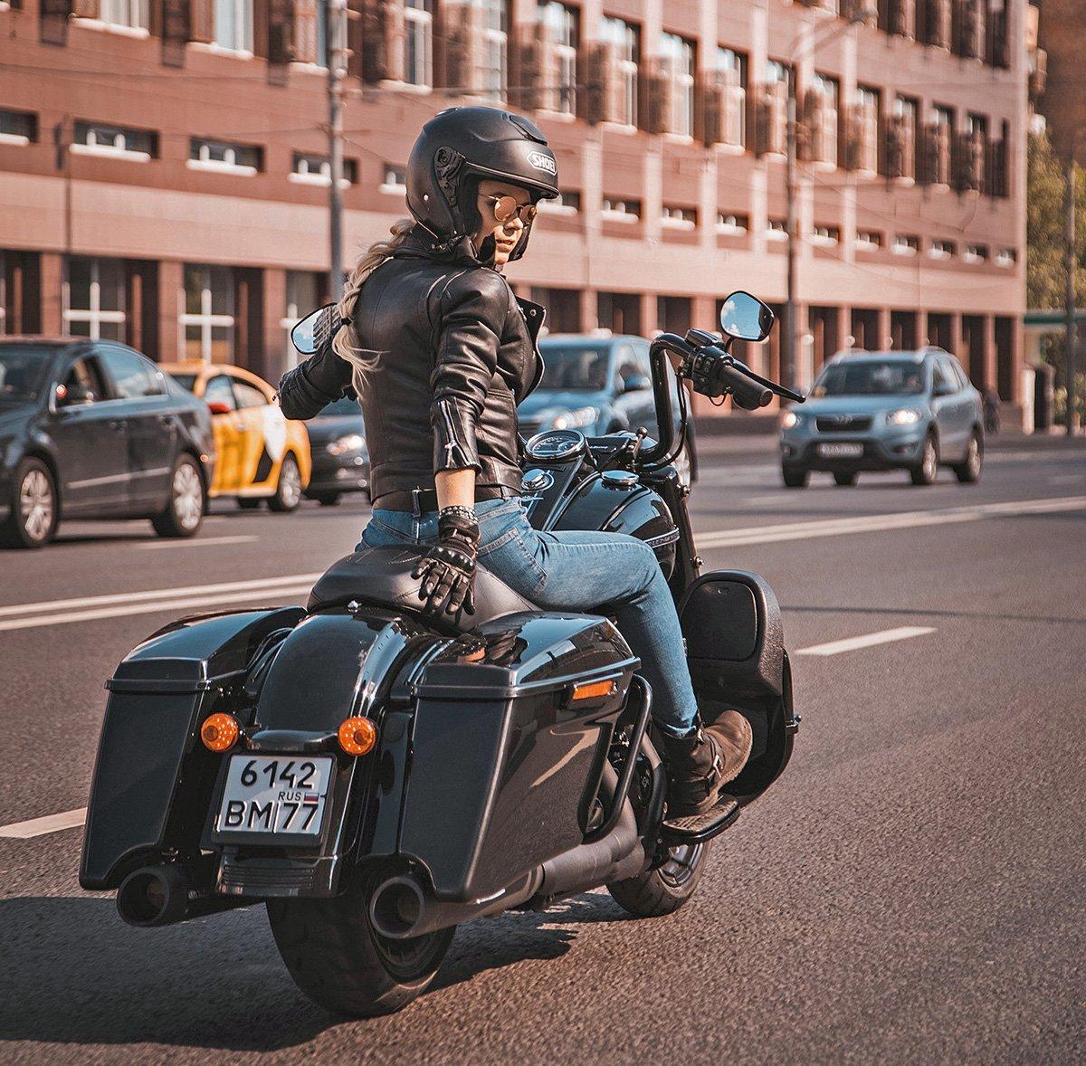 Девушки, которые ездят на Harley-Davidson: две реальные истории из России