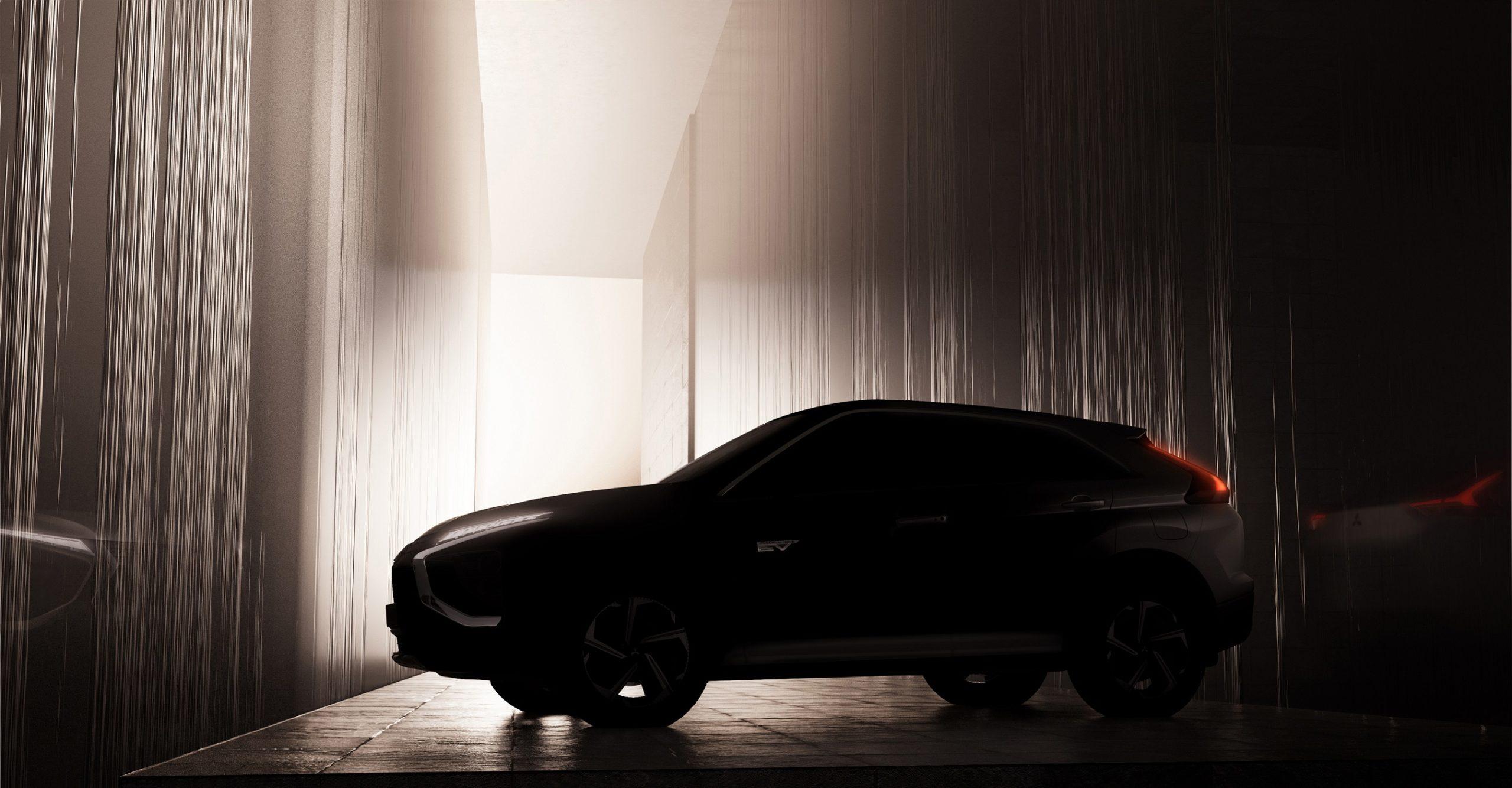 Новый Mitsubishi Eclipse Cross получит эффектный дизайн и передовую гибридную систему