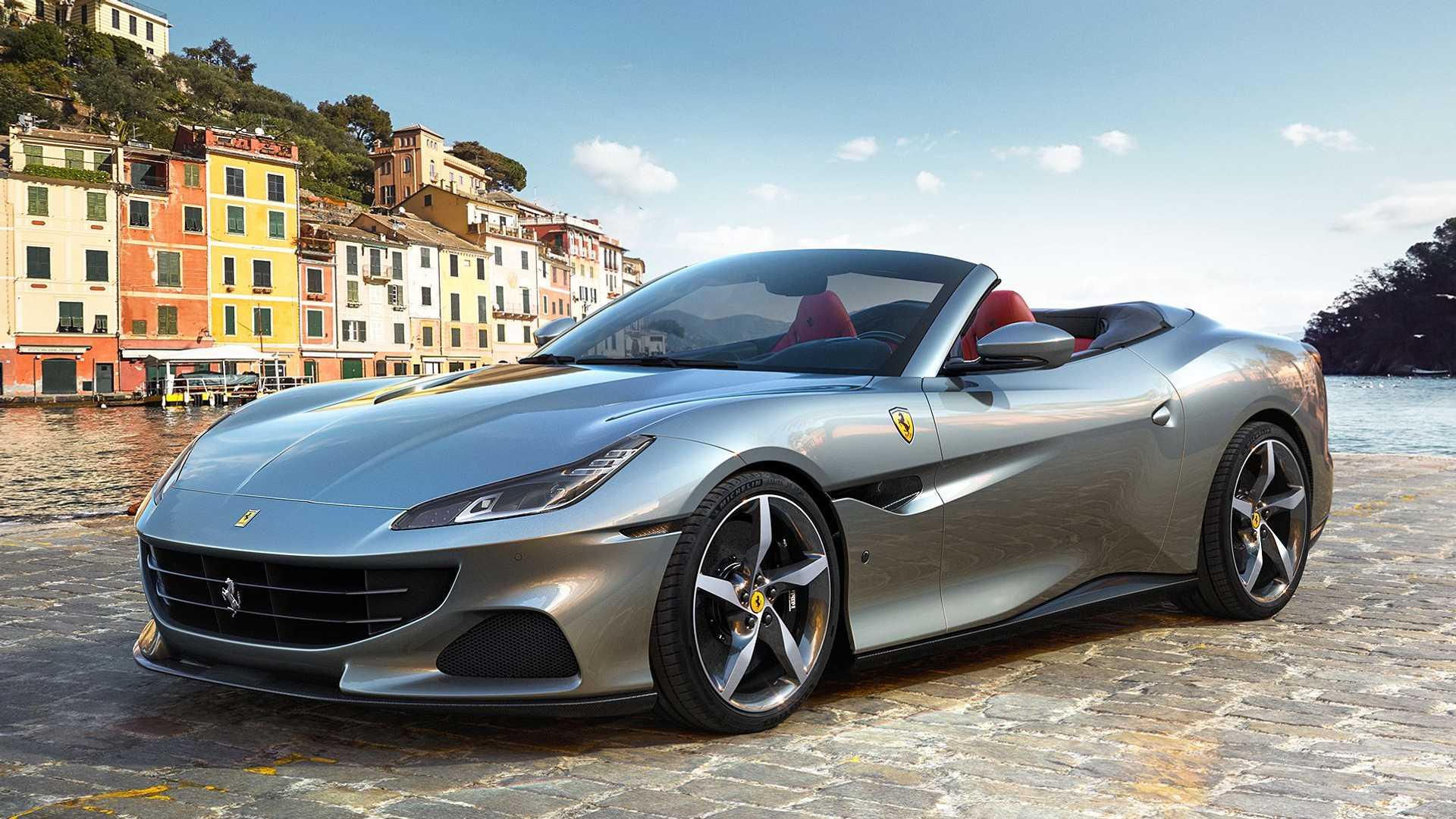 Ferrari Portofino M получил новую трансмиссию и более мощный мотор