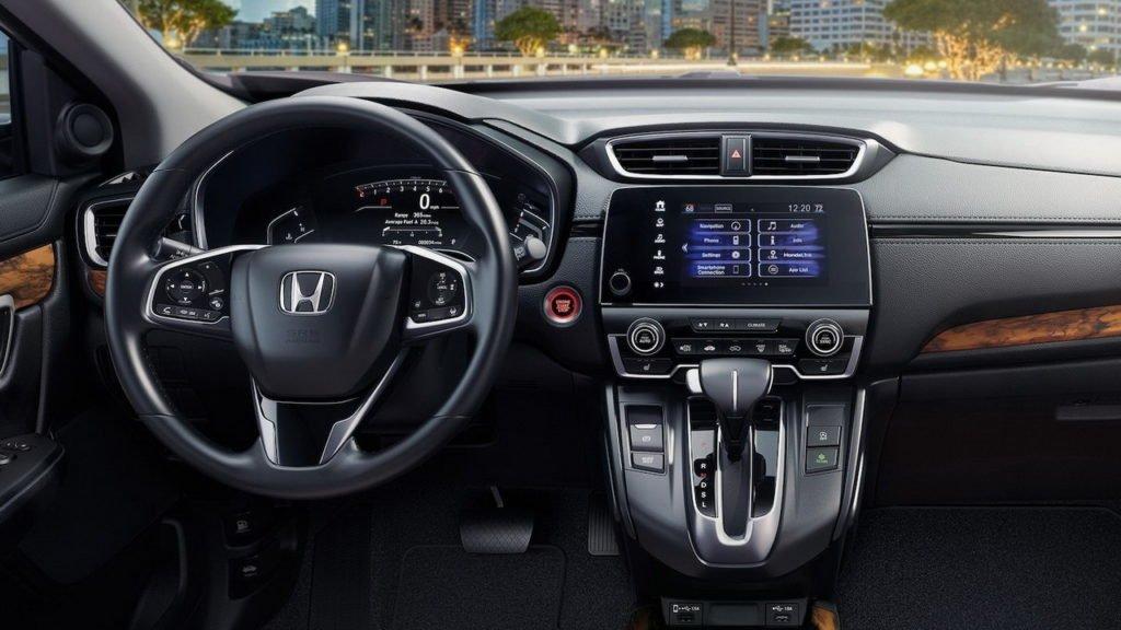 Объявлены российские цены обновленного кроссовера Honda CR-V