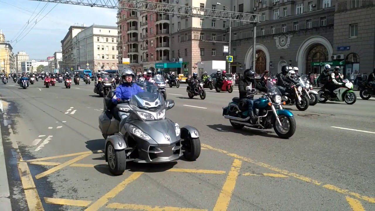 В Москве перекроют движение из-за мотоциклистов