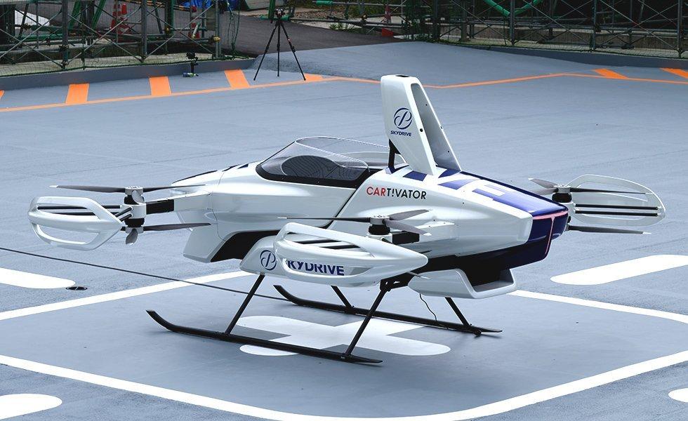 Проект SkyDrive готов продавать летающие автомобили по всему миру (видео)