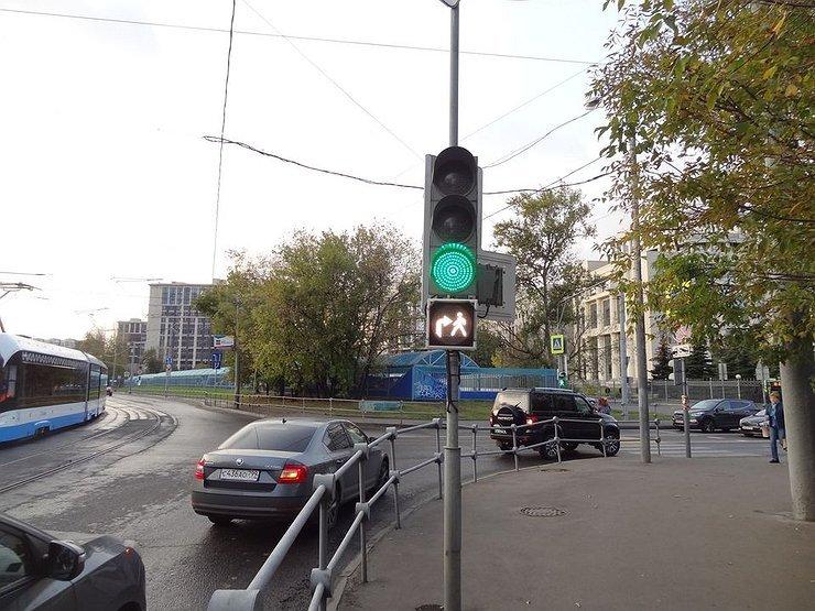 В Москве появились необычные светофоры