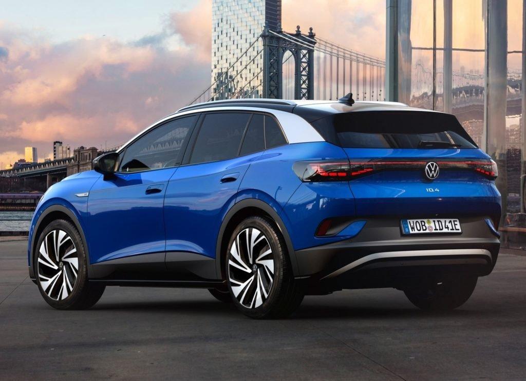 Volkswagen показал свой первый серийный электрокроссовер