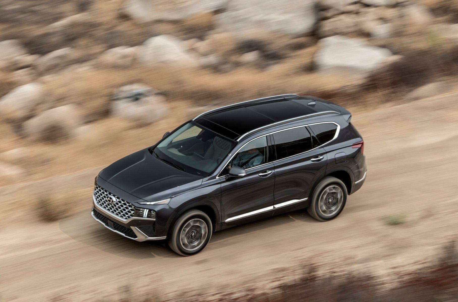 Раскрыты подробности о моторах нового кроссовера Hyundai Santa Fe