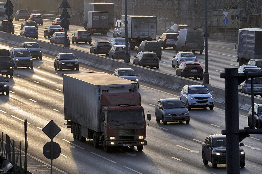 В Москве ужесточат ограничения на въезд для грузовиков