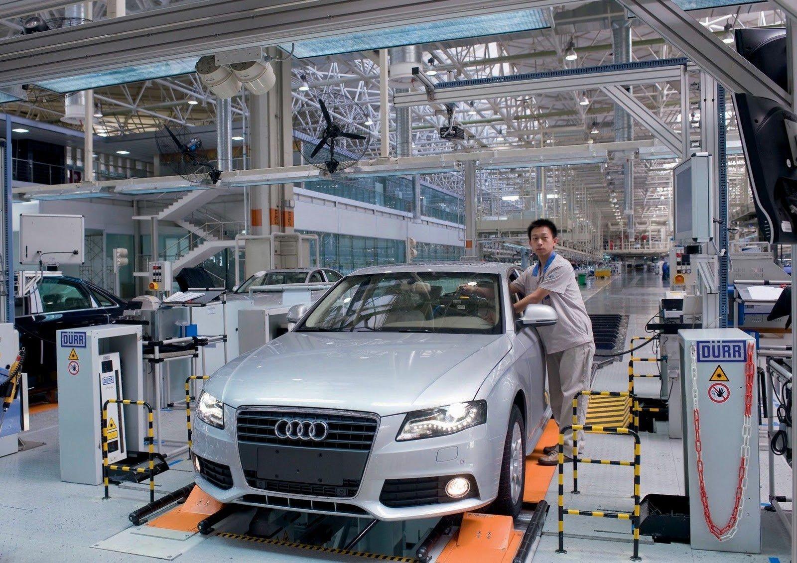 Audi наладит производство электрокаров в Китае