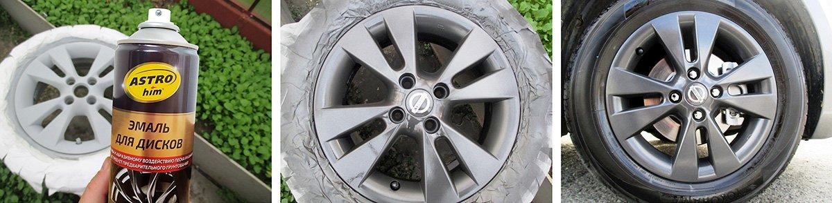 Как быстро и просто обновить колесные диски