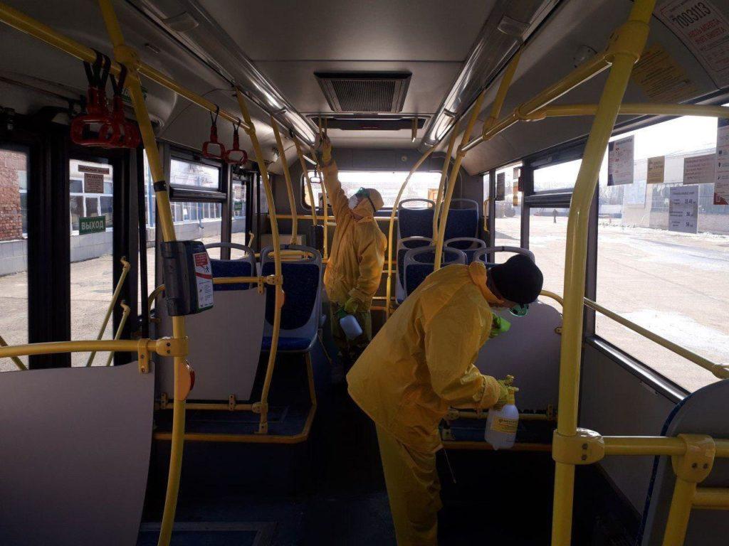 В России автобусы и такси оснастят системой защиты от коронавируса