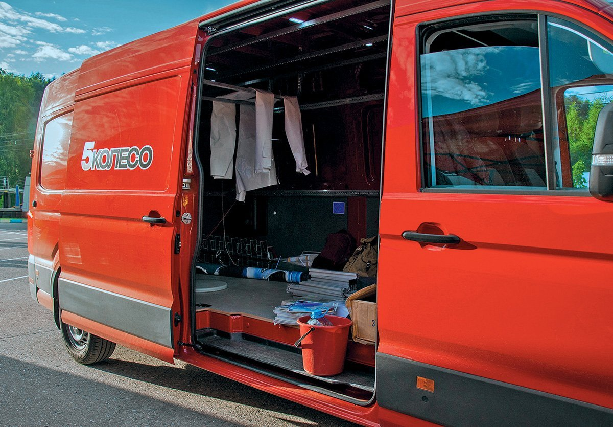 Показываю в деле самый дорогой фургон Volkswagen Crafter: почему не стоит переплачивать за полный привод