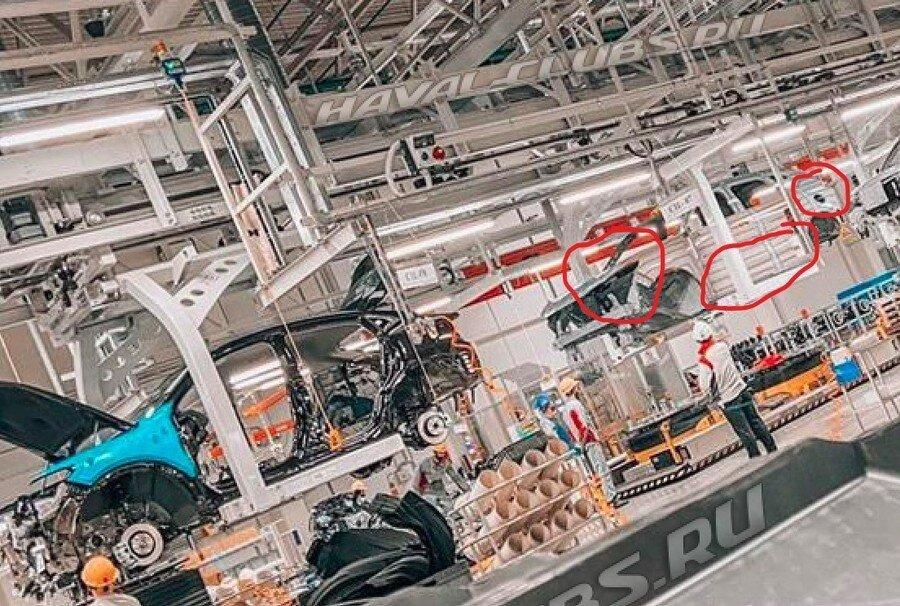 В Тульской области готовят производство нового недорогого кроссовера Haval