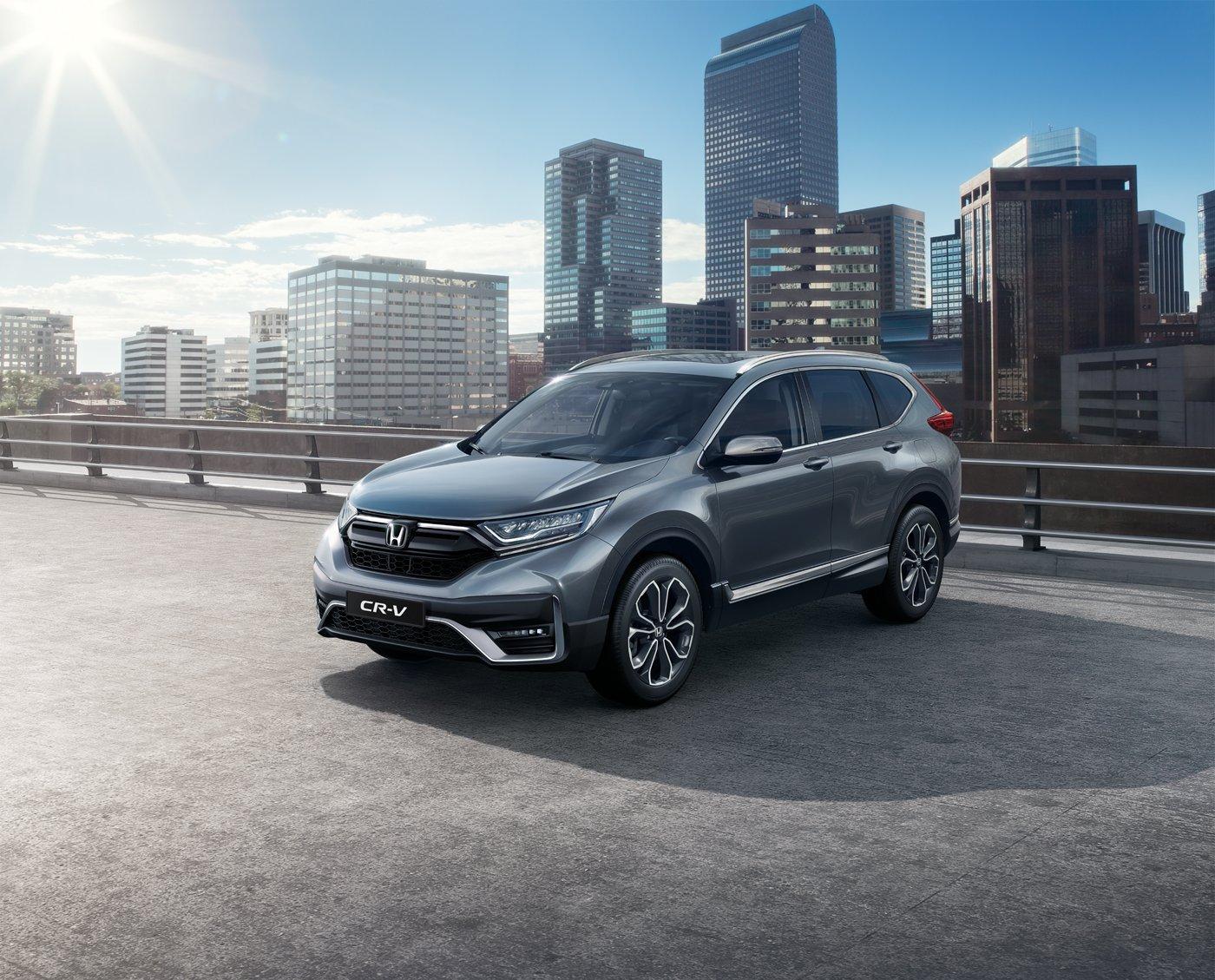 Honda привезла в Россию обновленный CR-V