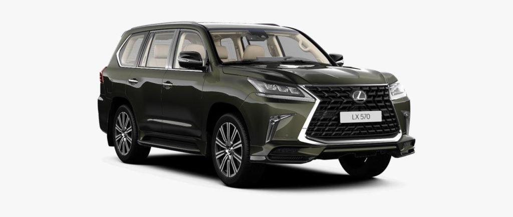Lexus представил в России спецверсию внедорожника LX