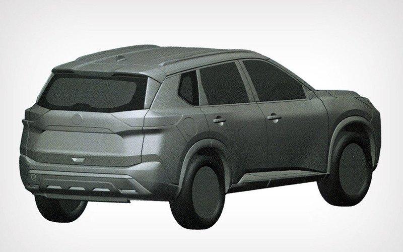 Новый кроссовер Nissan X-trail попал в базу Роспатента