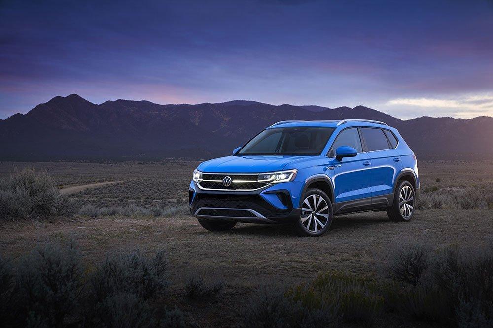 Volkswagen намекнул на новый кроссовер для России