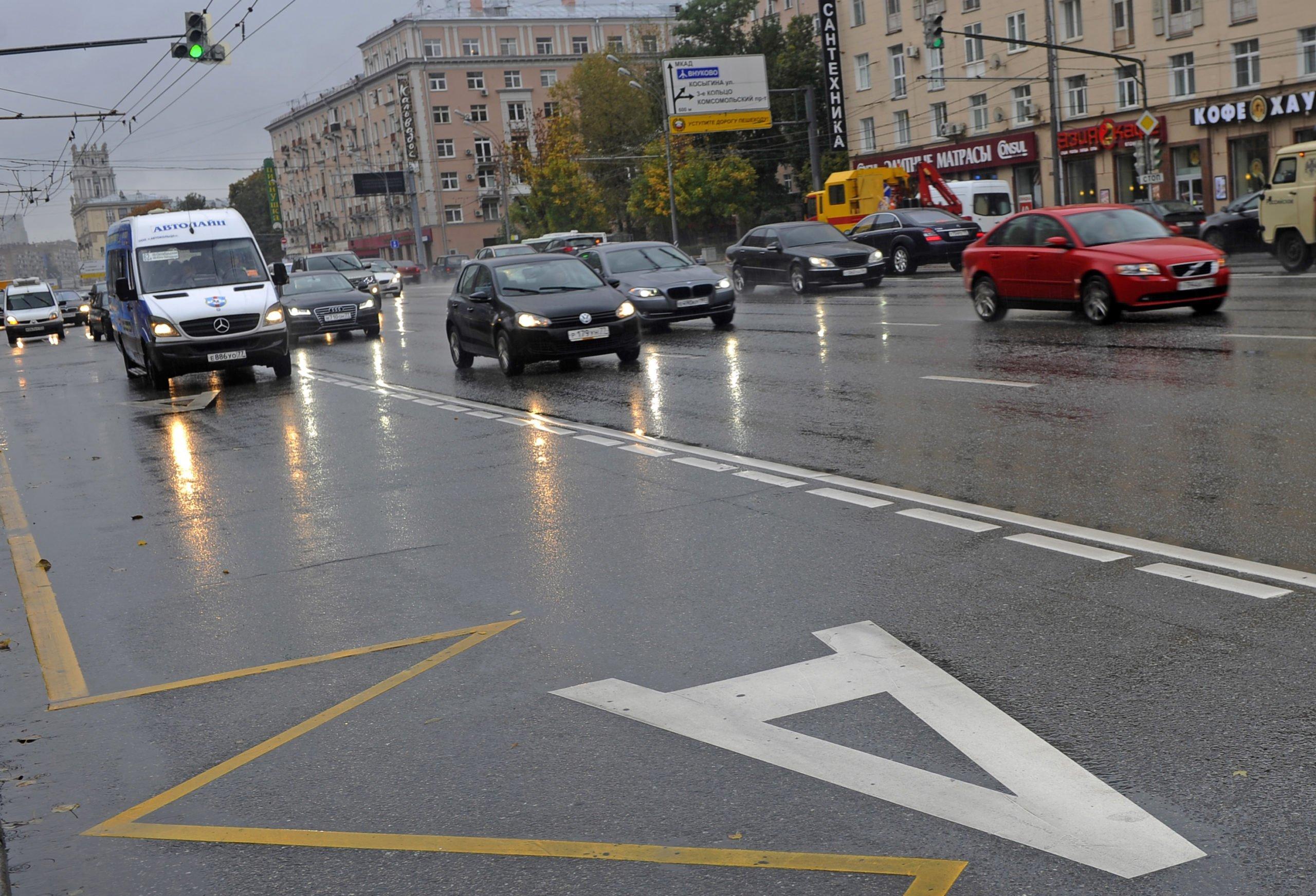 В Москве в ноябре появятся 14 новых выделенных полос