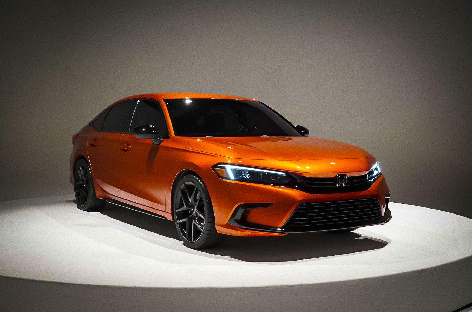 Honda показала, как будет выглядеть новое поколение Civic