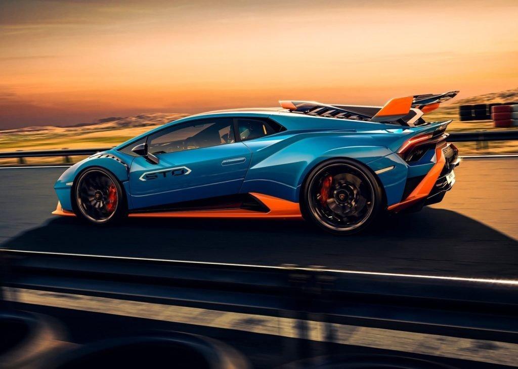 Lamborghini представил самый экстремальный Huracan STO