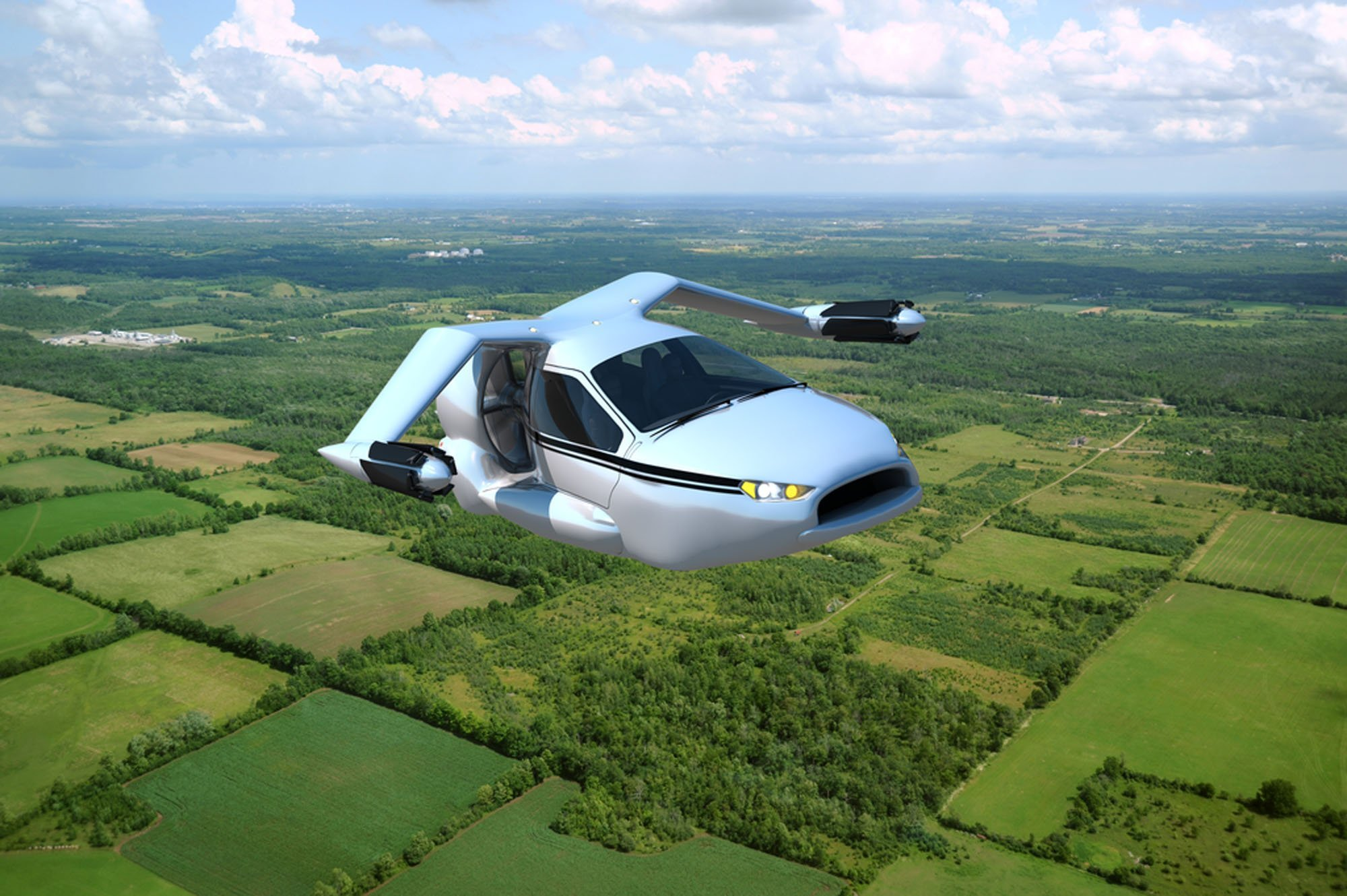 В России разрабатывают летающее авто