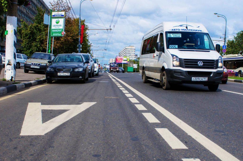 С 7 ноября в Москве запретят проезд по выделенным полосам