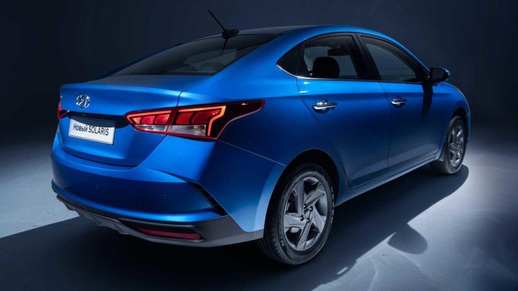 Hyundai назвал цены на юбилейную серию Solaris