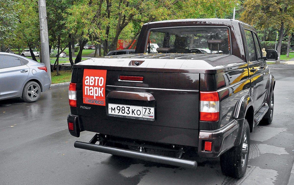 УАЗ Пикап с французским автоматом и индийской раздаткой: рассказываю, чем он лучше и хуже конкурентов