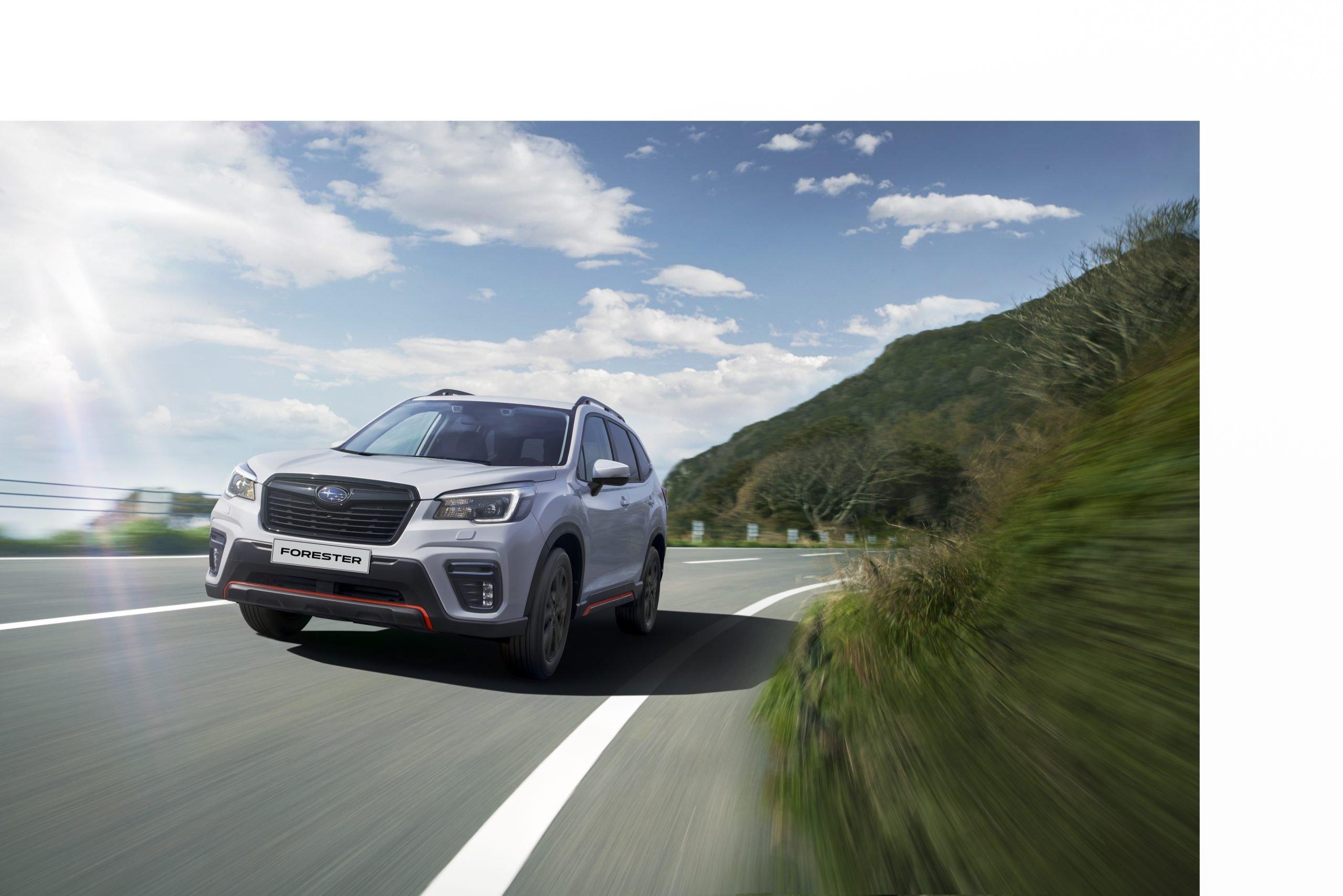 Стартовали продажи новейшего кроссовера Subaru Forester Sport