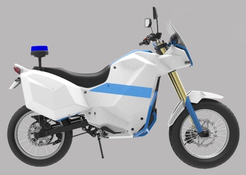«Калашников» запатентовал свой электромотоцикл