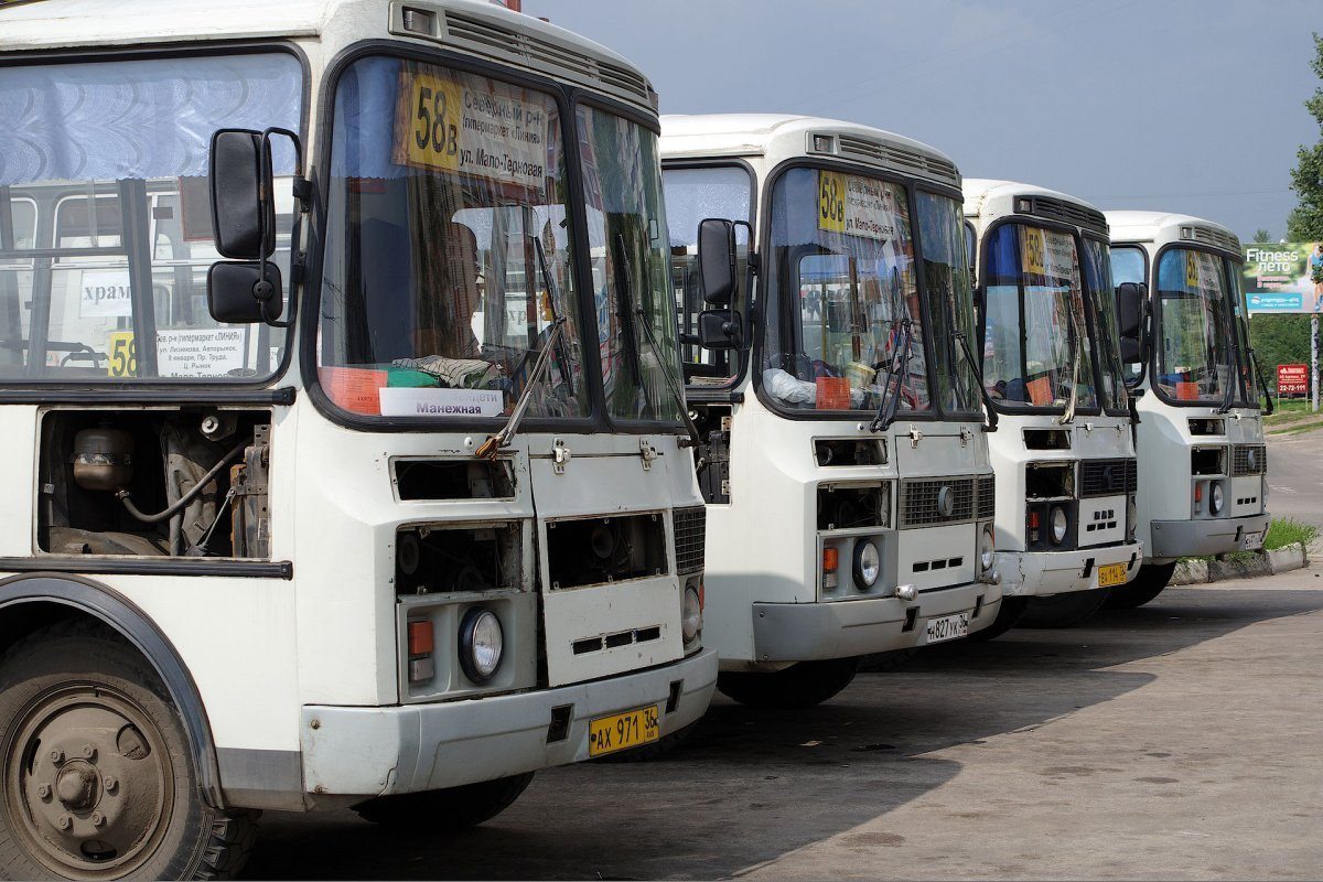 Минтранс намерен бороться со старыми автобусами