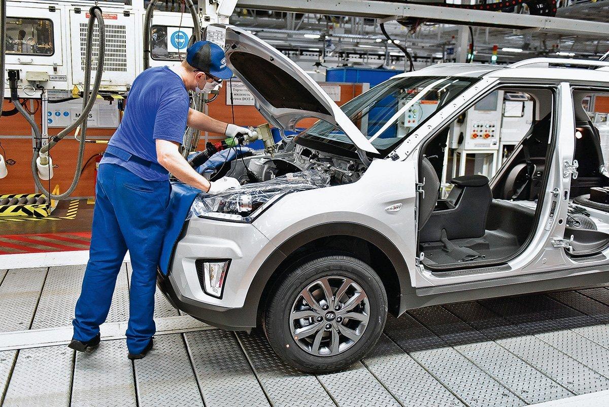 Как собирают «Солярисы» и «Креты»: побывал на заводе Hyundai под Питером, рассказываю