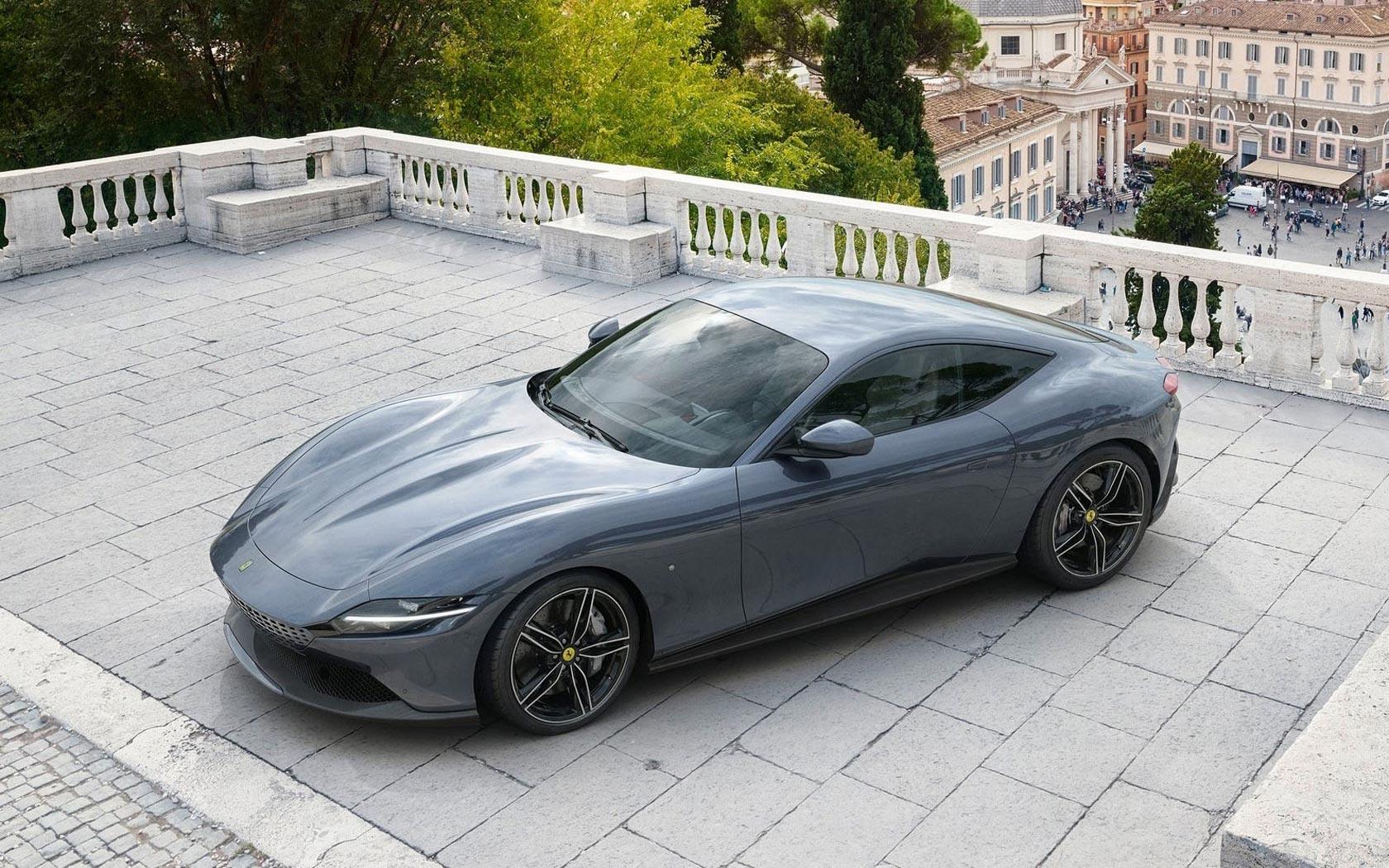 Ferrari запатентовал в России спорткар Roma