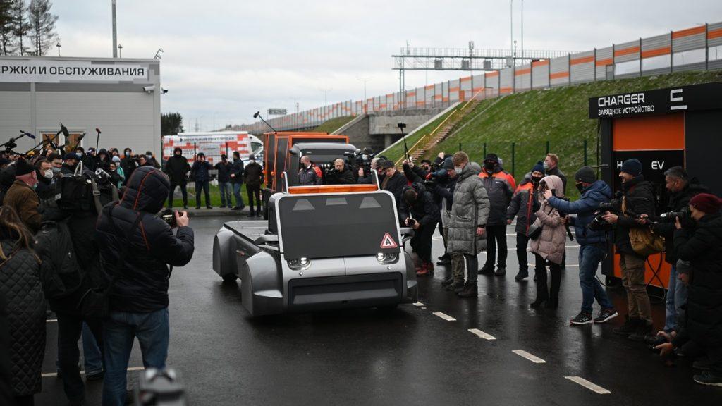 На ЦКАД-3 испытали первый российский водородный грузовой беспилотник
