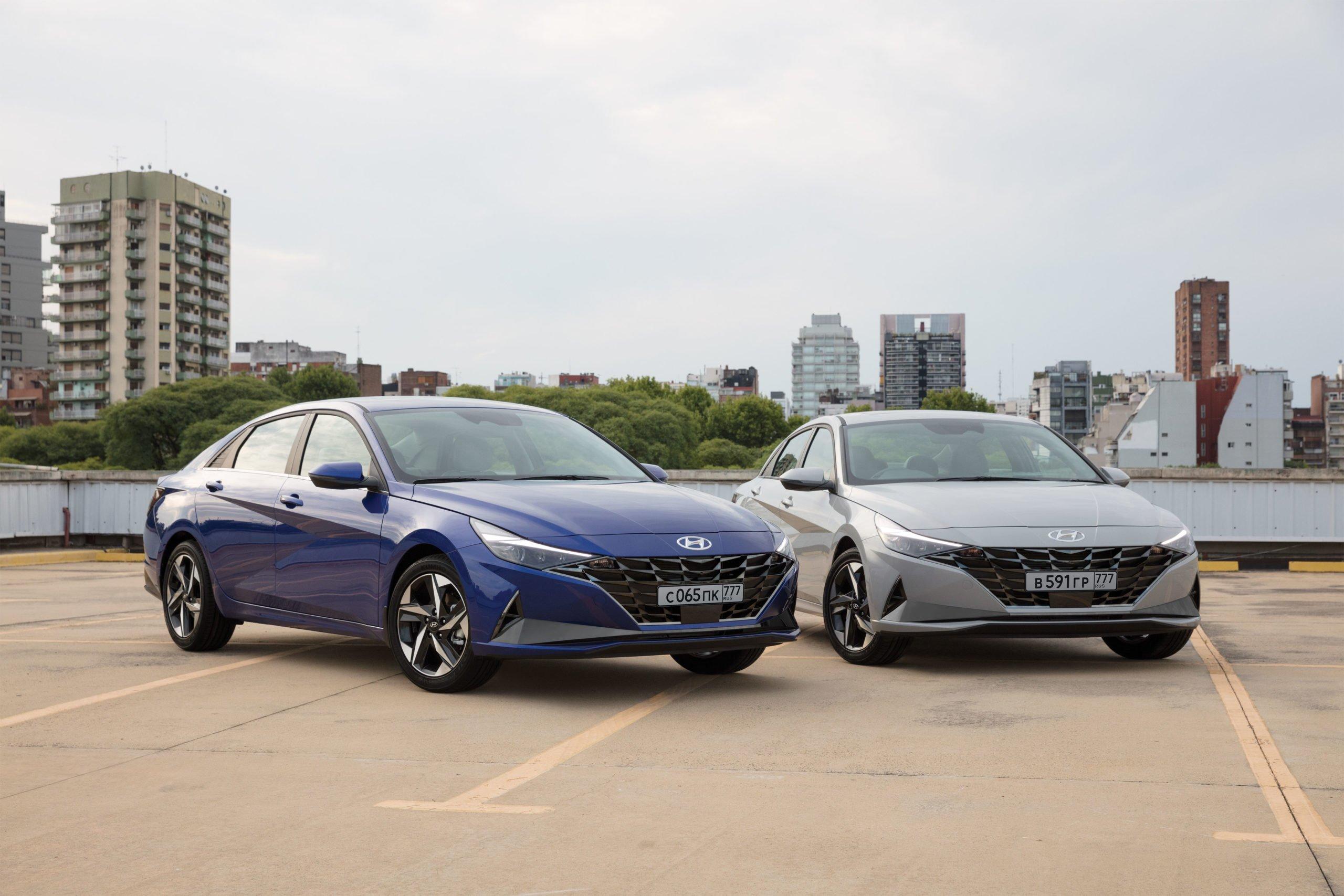Новый Hyundai Elantra: двигатели и комплектации для России