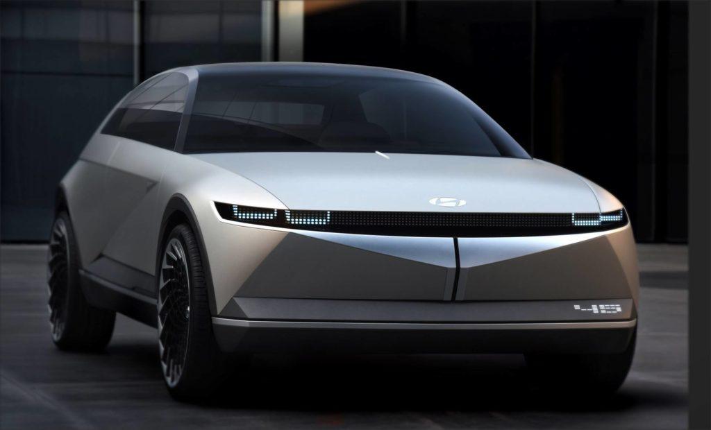 Hyundai анонсировал выход нового электрокара Ioniq 5