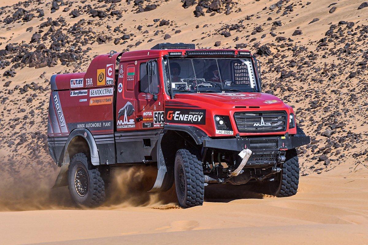 Гоночные МАЗы: как белорусские грузовики покоряли «Дакар»