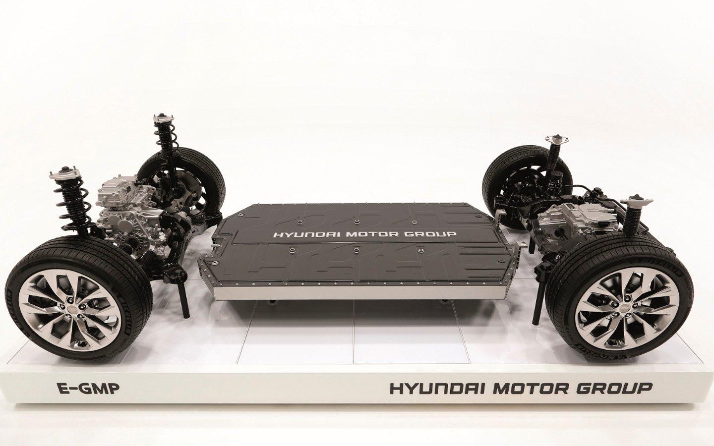 Хендай представила новейшую платформу для будущих электрокаров E-GMP