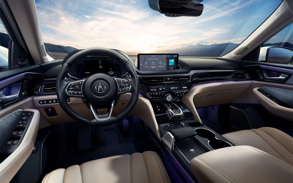 Acura представила новое поколение кроссовера MDX