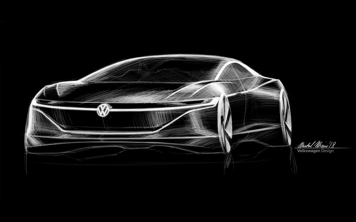 Volkswagen намерен выпустить соперника Tesla Model S
