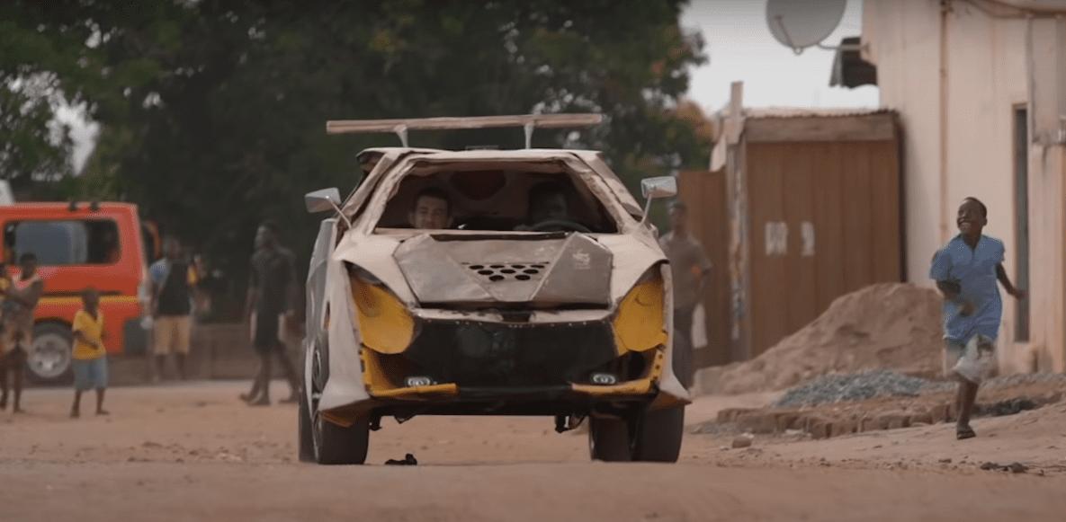 Африканский подросток собрал себе машину за 200 долларов