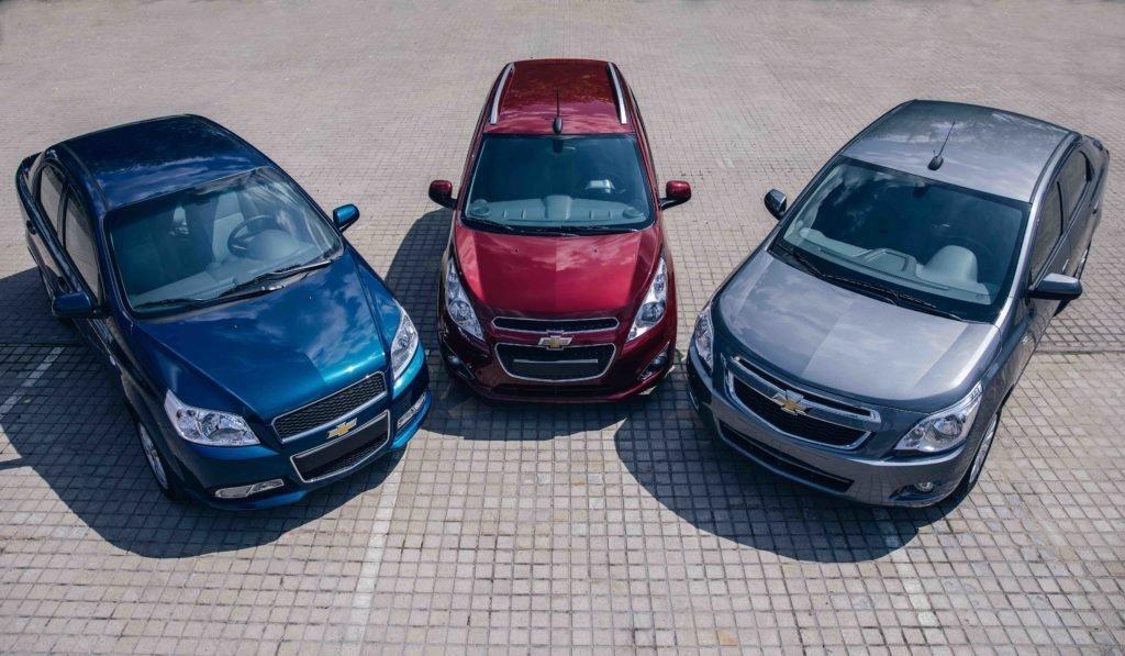 Названа самая популярная бюджетная модель Chevrolet в России