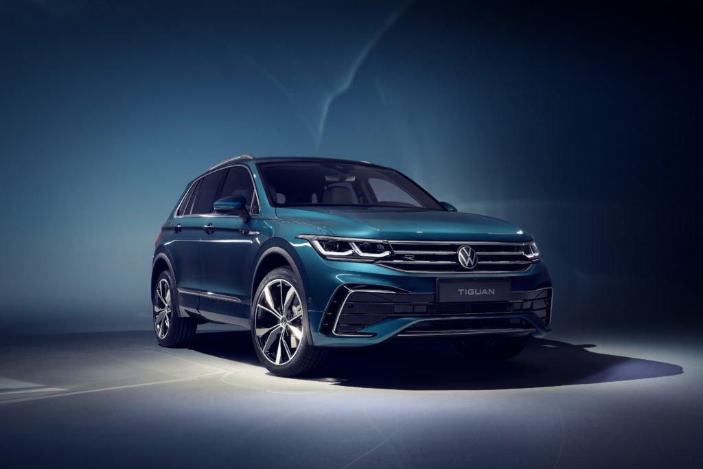 Обновлённый кроссовер Volkswagen Tiguan порадовал снижением цены