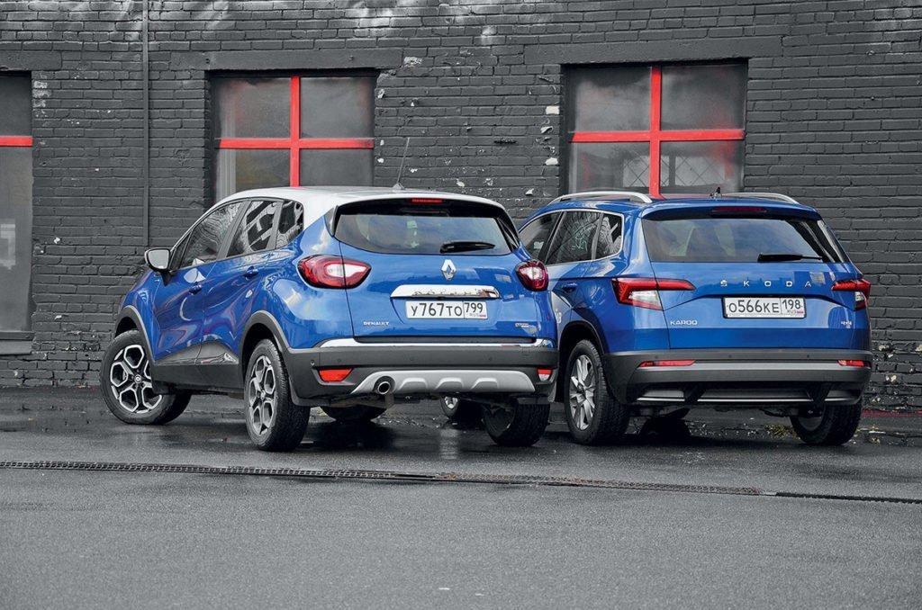 Сравнили Renault Kaptur и Skoda Karoq. Стоит ли переплачивать 400 тысяч за «Карок»?