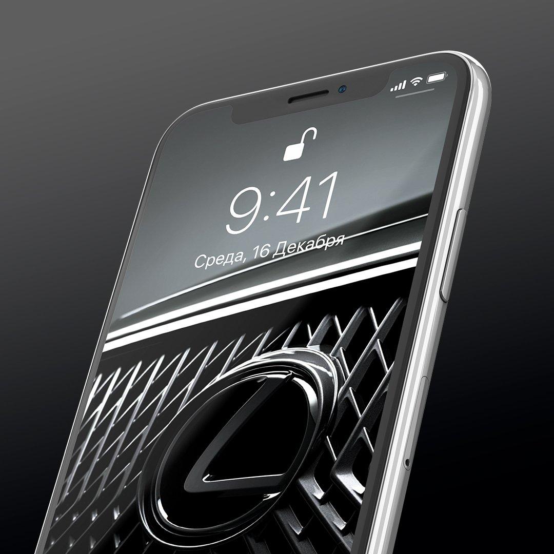 Для iPhone и iPad доступен дизайн иконок в стиле Lexus