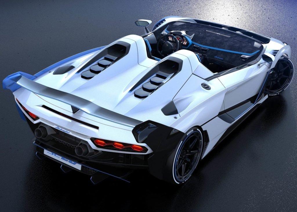 Lamborghini представил суперкар без лобового стекла