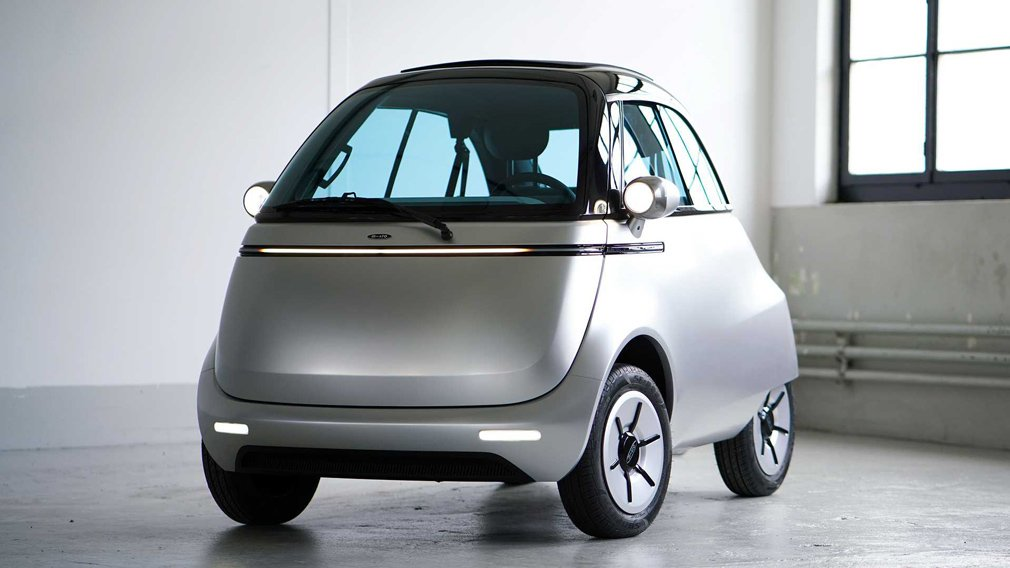 Micro Mobility готовит к запуску самый маленький электрокар