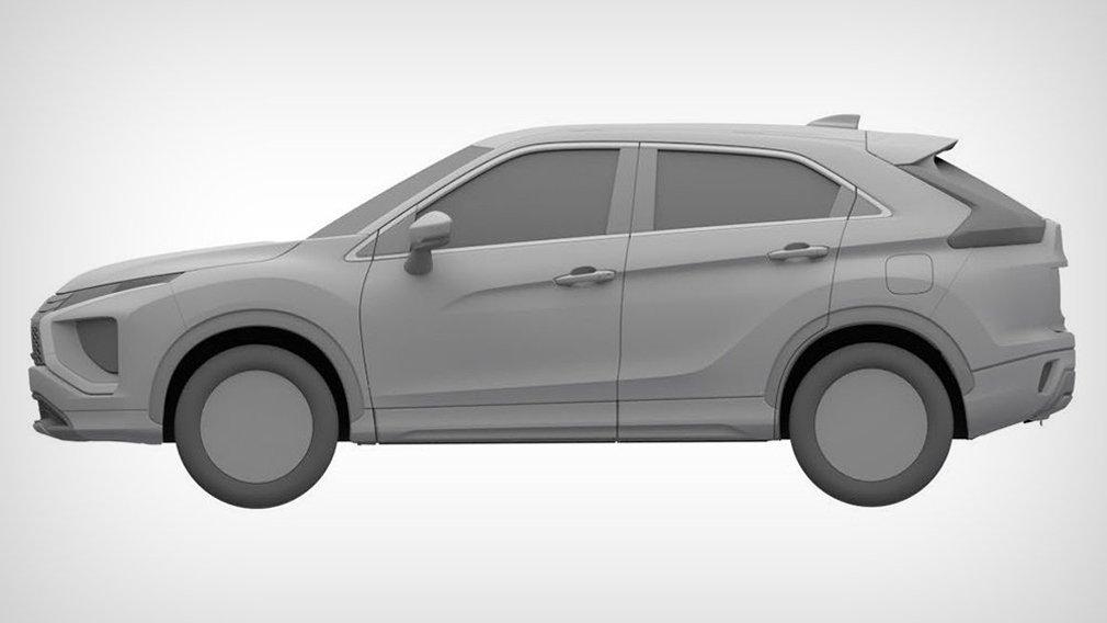Mitsubishi запатентовал в России обновлённый Eclipse Cross