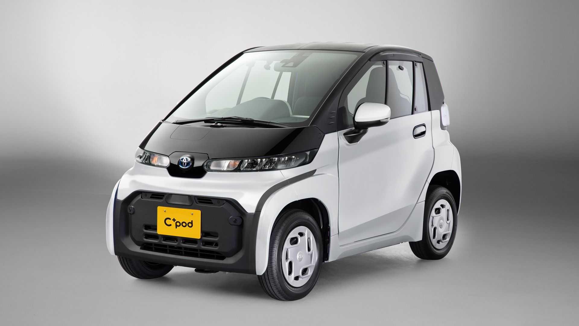 Toyota выпустит необычный электрокар, который будет меньше «Кама-1»